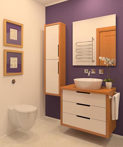bad - auro schweiz - naturfarben, Badezimmer
