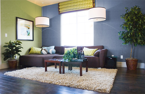 wohnzimmer naturfarben:Blue and Green Living Room Ideas