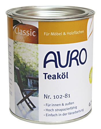 Gartenmöbel- & Terassenöle - Auro Schweiz - Naturfarben Gartenmobel Teakholz Teakol